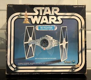 STAR WARS VINTAGE LP TIE FIGHTER BOX **NO SHIP**