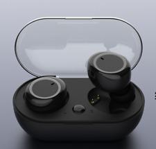 New Wireless Earbuds Bluetooth 5.0 Headphones Sweatproof with Mic & Charging Box