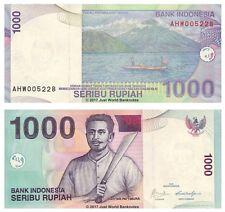 Indonesia 1000 Rupiah 2009 P-141j Banknotes UNC