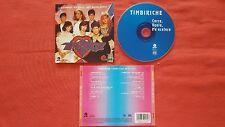 "TIMBIRICHE ""Corro, Vuelo, Me Acelero"" ORIGINAL 1998 CD PAULINA RUBIO THALIA"
