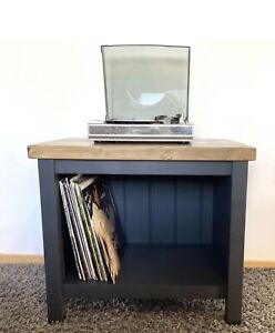 Record Player Stand / Low Turntable Stand / Vinyl Record Console / Media Console