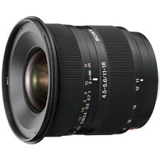 Sony SAL1118 DT11-18mm f/4.5-5.6 Aspherical ED Super Wide Angle Zoom Lens