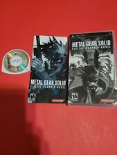 Metal Gear Solid: Digital Graphic Novel (Sony PSP, 2006)