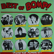 "Vinyle 33T Various Artists (Iggy Pop - Flamin' Groovies -etc..) ""Best of bomp !"""