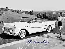 1955 Buick Century Convertible 8 x 10 Press Photograph