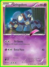 "Carte Pokemon "" GRINGOLEM "" Noir & Blanc DRAGONS EXALTÉS PV 90 58/124  VF"