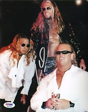 Gangrel Signed Auto'd w/ Edge Christian The Brood WWE WWF 8x10 Photo PSA/DNA COA