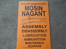 Mosin Nagant All Nations 7.62x54r 1891 to 1944  Rifle Manual 31 pages