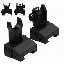 Tactical Low Profile Iron SightsFront&Rear Kit Flip-up QD Rapid Transtion Sight