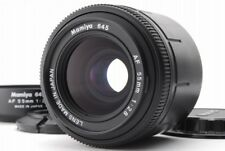 [AB- Exc] Mamiya 645 AF 55mm f/2.8 Lens for Mamiya 645AF w/Hood From JAPAN R3905