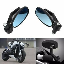 Motorcycle 7/8'' Handle Bar End Rearview Side Mirrors for Honda Yamaha KTM BMW