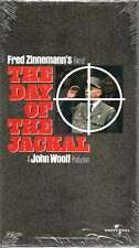 The Day of the Jackal VHS 1997 Edward Fox Michael Lonsdale Alan Badel NEW SEALED