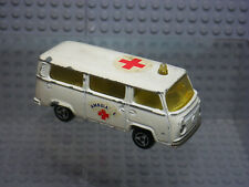 Fourgon VW #244 Ambulance - Majorette - France - Miniature Vintage 1:60