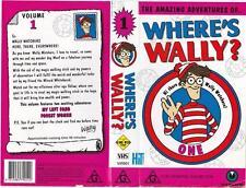 WHERE'S WALLY - VOLUME 1  *RARE VHS TAPE*