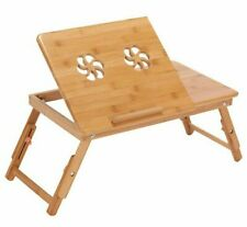 Portable Laptop Table High Graded Quality Bamboo Stand Desk For Home Furniture's