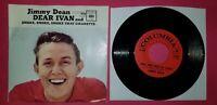 JIMMY DEAN / Dear Ivan - Smoke, Smoke, Smoke That Cigarette /  45rpm & PS