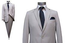 Herren Anzug Slim-fit Muga Gr.52 Beige