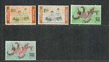 Thailand Sc#414-417 M/H/Vf, Cv. $59.50