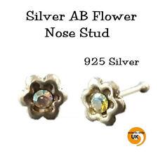 Gioielli in argento di cristallo del naso per il corpo