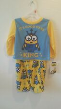 """Minions pajamas 2t """"Its good to be KING"""