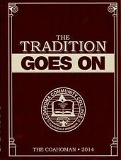 Coahoma Community College Clarksdale Mississippi 2014 Coahoman Yearbook Annual