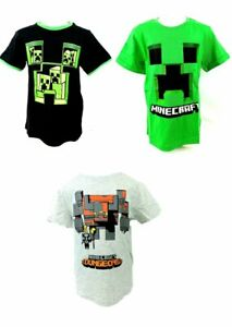 Minecraft Mojang T-Shirt in 3 Motiven Gr 116 128 140 152