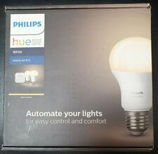 Philips Hue E27 White LED Lighting Starter Kit BRAND NEW