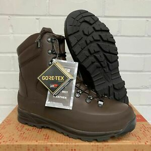ITURRI BROWN LEATHER COLD WET WEATHER COMBAT BOOTS - Sizes , British Army NEW