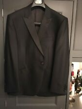 New M&S Pure New Wool 44s Mens Dinner Suit with Trs 38/33 Saville Row Inspired