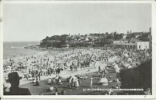 THE BEACH LOOKING SOUTH CRONULLA SYDNEY NSW PHOTO POSTCARD