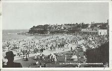 THE BEACH LOOKING SOUTH CRONULLA SYDNEY NSW PHOTO POSTCARD
