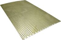"""LA Choppers Motorcycle Universal Baffle Perforated Sheet 6""""x10"""""""