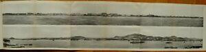 1914 PANORAMA VLADIVOSTOCK ВЛАДИВОСТОК HARBOUR CITY PORT PHOTOGRAPHIC PRINT