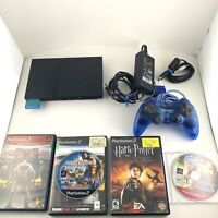 Sony Play Ps2 Gaming Console Slim 4 Game Bundle Memory Card God Of War,wrestling