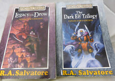 Forgotten Realms Legacy of Drow & Dark Elf collectors edition R A Salvatore book