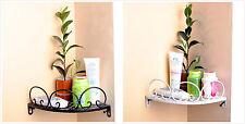 Suction Rack Bathroom Corner Shelf Organizer Tidy Cup Storage Shower Wall Basket