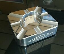 COHIBA Square 8 Cigars SOLID Stainless steel Cigar Ashtray