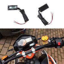 Multi-Function Motorcycle Digital Thermometer Voltmeter Time Water Meter Gauge