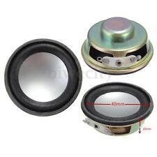 "2Pcs 1.5"" Inch 4Ohm 4Ω 3W Full Range Audio Waterproof Stereo Speaker Loudspeaker"