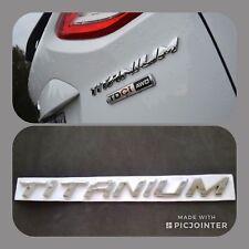 TITANIUM Decal Emblem Badge Metal Ford Kuga Mondeo Focus Fiesta S Max C Max TDCI