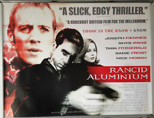 Cinema Poster: RANCID ALUMINIUM 2000 (Quad) Rhys Ifans Joseph Fiennes