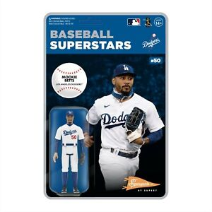 MLB Supersports ReAction Figure Wave 2 - Mookie Betts (Los Angeles Dodgers)