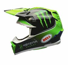 2018 Bell Moto 9 Tomac Replica Limited Edition Monster Energy Medium Mx Helmet