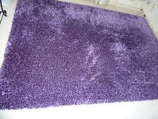 Teppich Shaggy lila violett neuwertig 160 cm x 230 cm neuwertig Hochfloor purple
