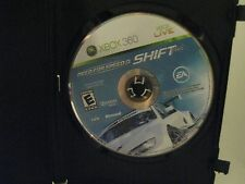 Need for Speed Shift  (Xbox 360, 2009)  Disc Only Tested Works Great Racing Game