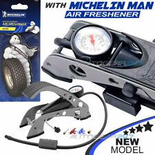 Michelin 12200 Solo Barril Coche Bicicleta Moto Ciclo Bomba De Neumáticos infaltor Pie + Aire
