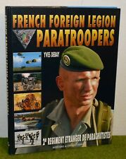 Histoire & Collections FRENCH FOREIGN LEGION PARATROOPERS BOOK