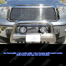 Fits 2010-2013 Toyota Tundra Billet Grille Grill Insert Combo