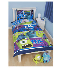 Disney Pixar Monsters University Reversible Childrens Duvet Set - Rotary Single