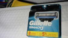 Gillette Mach3 Cartridges, 8 Cartridges
